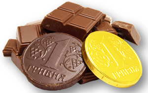 chocolate money image